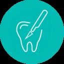 Icono cirugía dental Almería