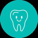 Icono diente odontopediatría Almería
